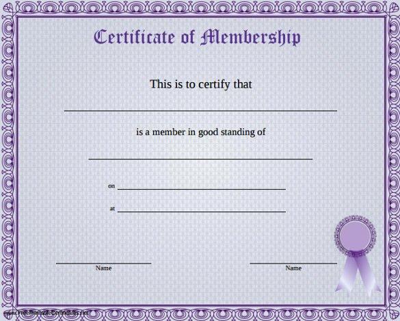 Llc Membership Certificate Template New 70th Birthday Certificate Template Templates Resume