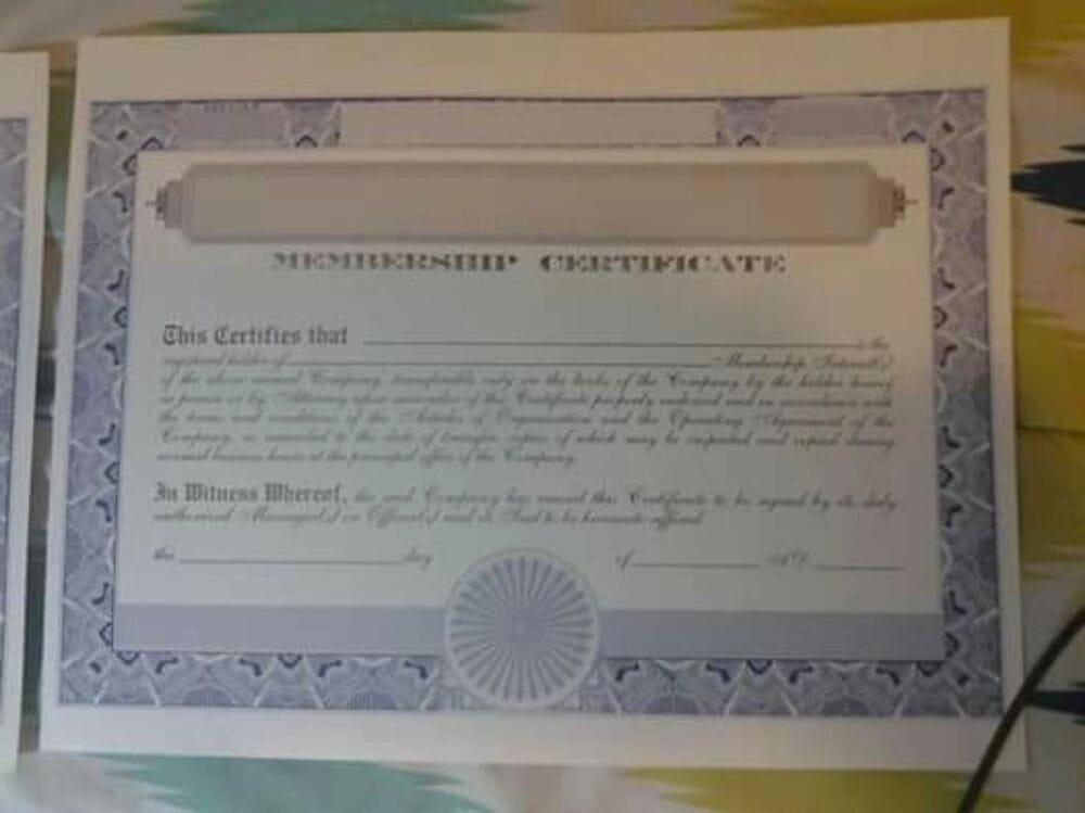 Llc Membership Certificate Template Unique Llc Membership Certificate Free Church Membership