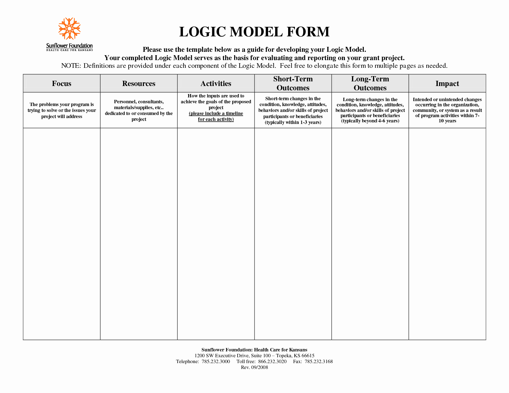 Logic Model Template Powerpoint Fresh Logic Map Templates Reverse Search