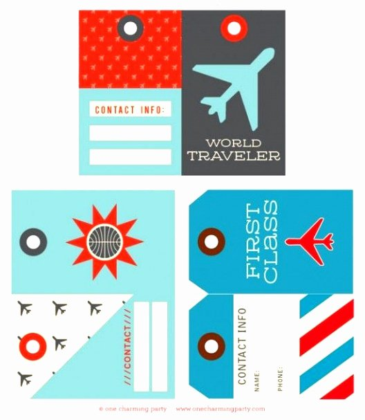 Luggage Name Tag Template Luxury 5 Free Printable Luggage Tags Template Uruyt