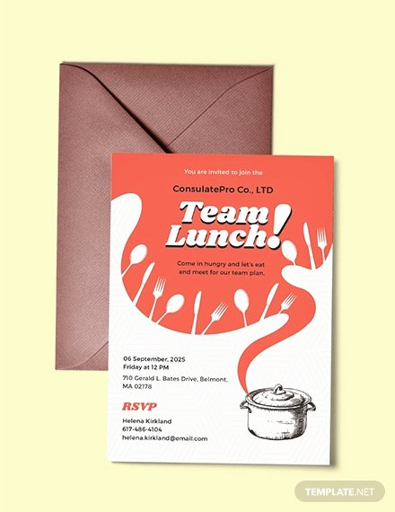 Lunch Invitation Template Free Best Of 10 Free Invitation Lunch Templates