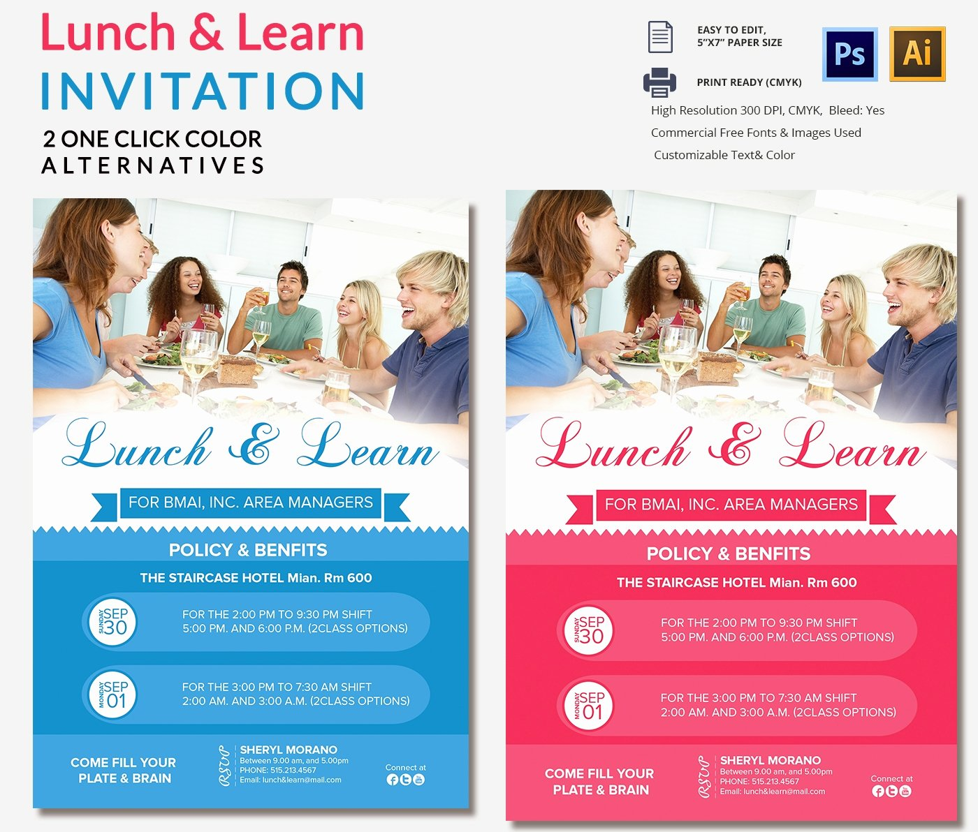 Lunch Invitation Template Free New Lunch Invitation Template 25 Free Psd Pdf Documents