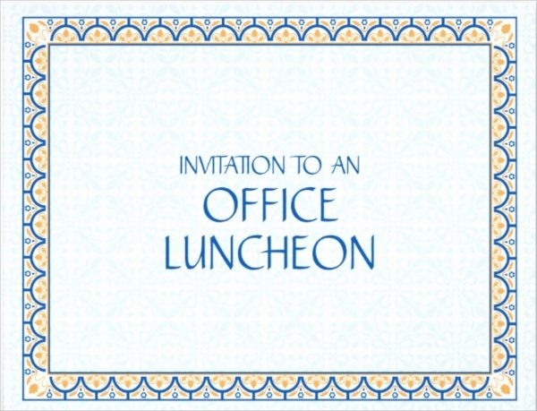 Lunch Invitation Template Free Unique 15 Lunch Invitations