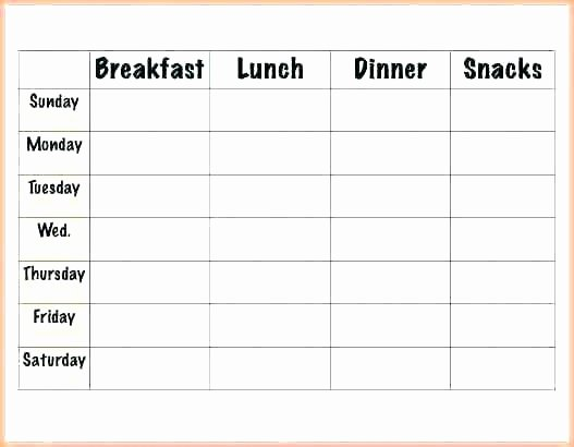 Lunch Menu Template Free Elegant Free Calendar Templates Template 2018 Monthly – Virtualisfo