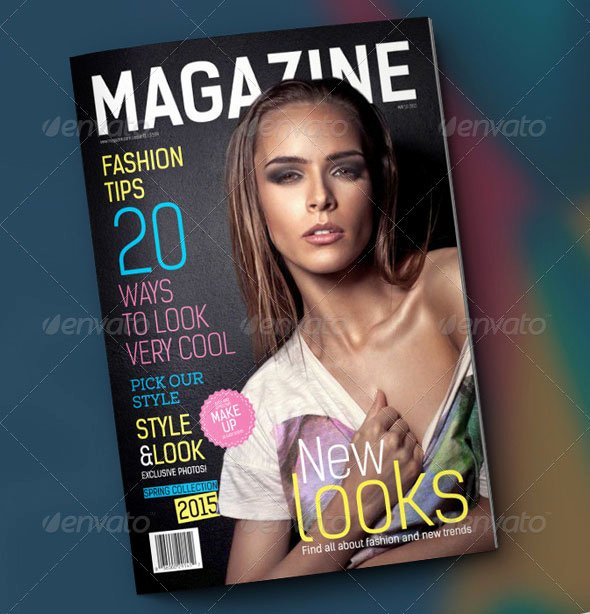 Magazine Cover Template Psd Beautiful 44 Stunning Magazine Templates for Indesign & Shop