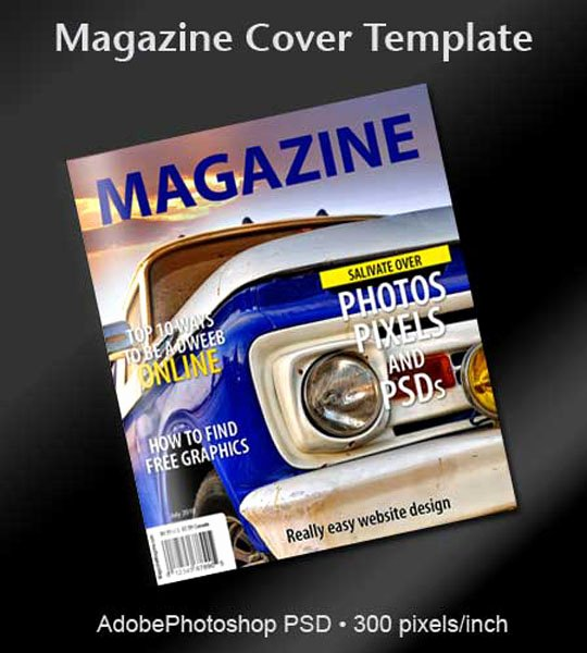 Magazine Cover Template Psd Beautiful A Collection Free Realistic Magazine Mockups to Display