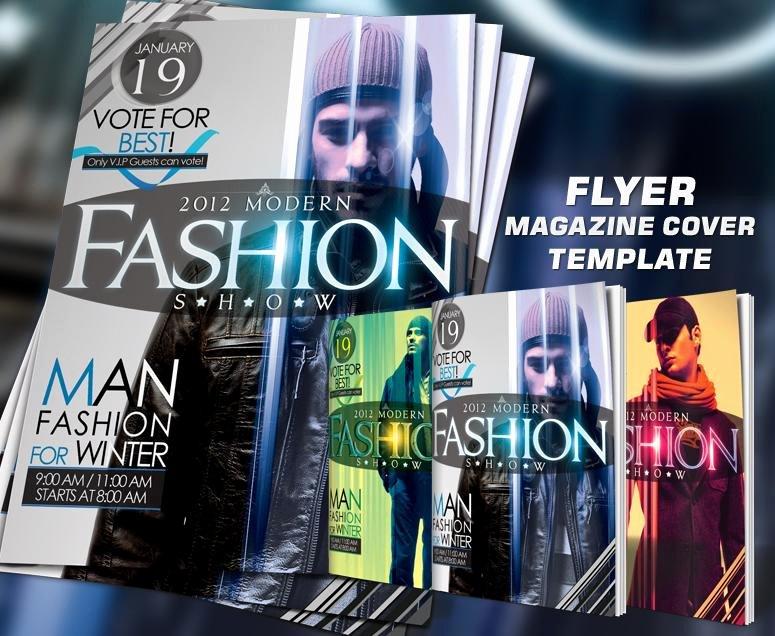 Magazine Cover Template Psd Unique Psd Fashion Flyer & Magazine Cover Template ‹ Psdbucket