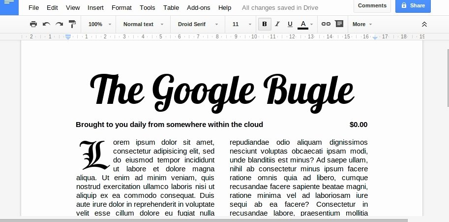 Magazine Template Google Docs Lovely Newspaper Article Template Google Docs