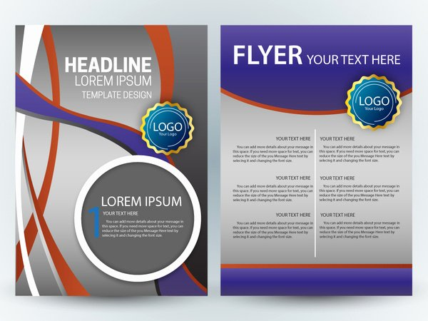 Magazine Template Google Docs Unique Magazine Layout Design Template Free Vector