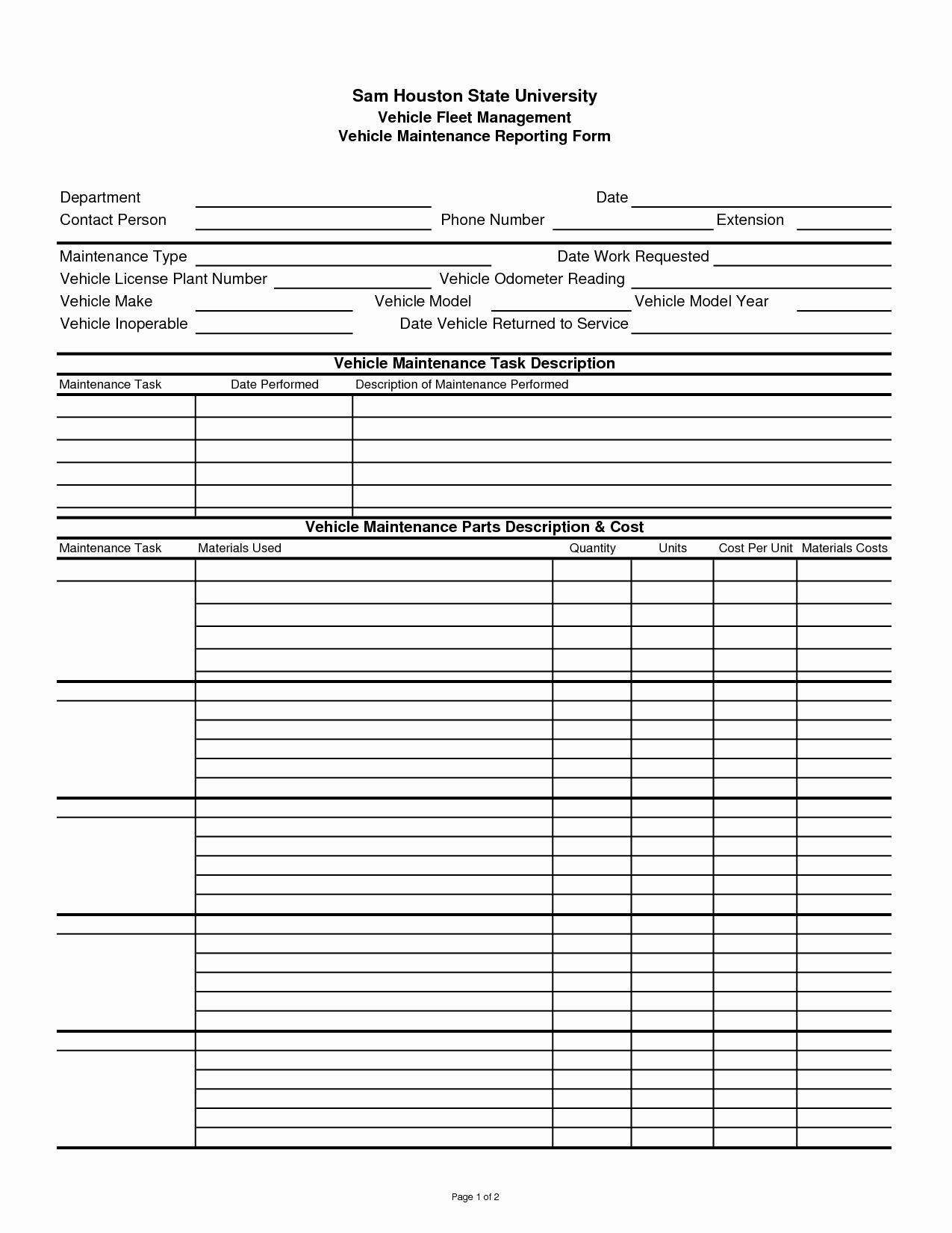 Maintenance Log Template Excel Lovely Pin by Lone Wolf software On Car Maintenance Tips