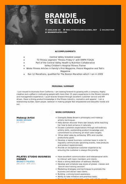Makeup Artist Resume Template Beautiful 6 Make Up Artist Resume