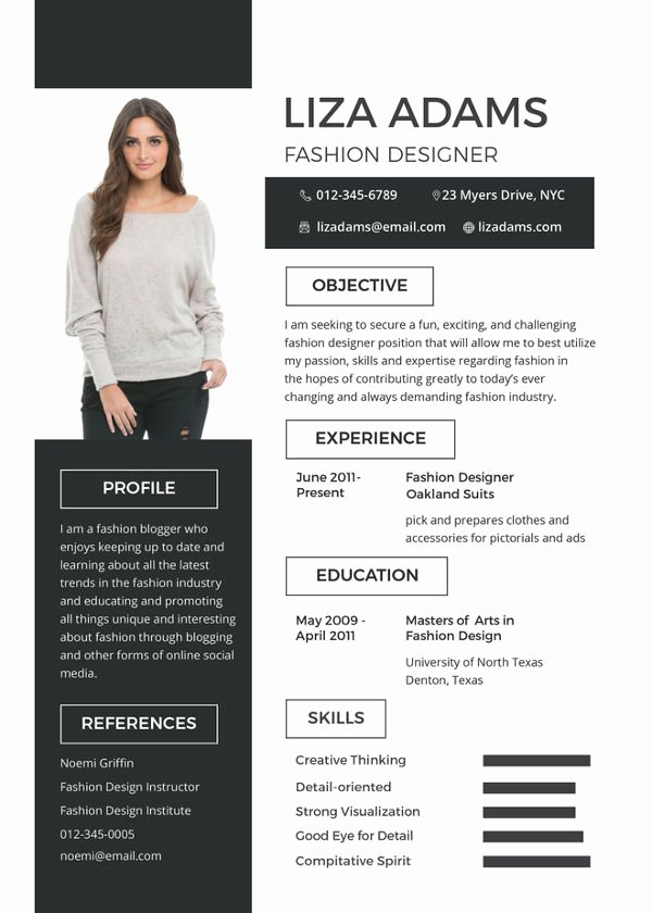 Makeup Artist Resume Template Beautiful 8 Fashion Designer Resume Templates Doc Excel Pdf