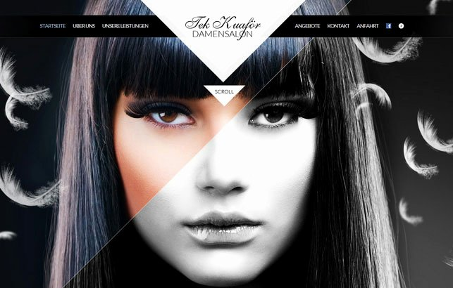 Makeup Artist Website Template Unique 60 Inspiring Examples Responsive Web Designs
