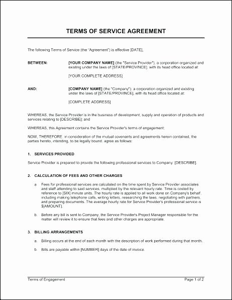 Managed Service Agreement Template Fresh Managed Services Agreement Template Yogatreestudio