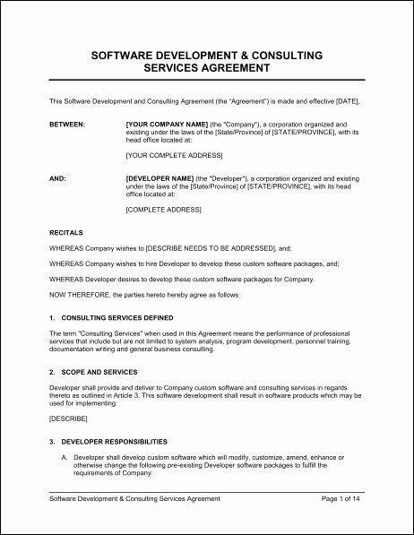 Managed Services Contract Template Elegant Managed Services Agreement Template Yogatreestudio