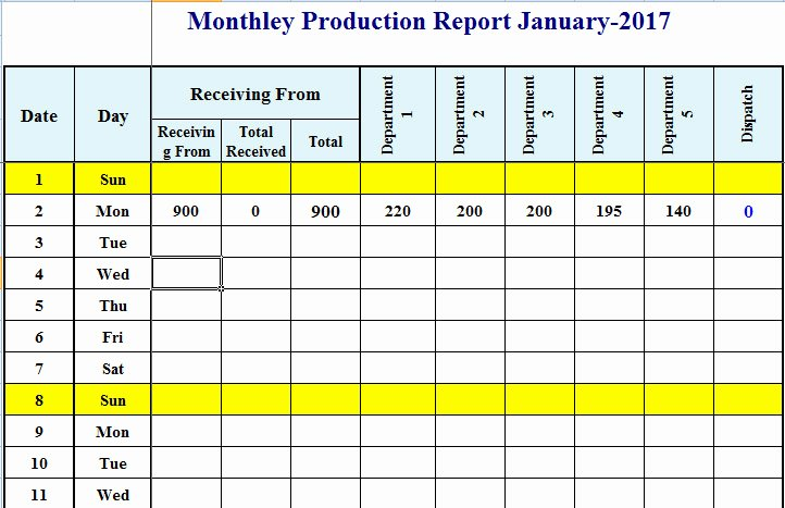 Manufacturing Production Schedule Template Elegant How to Set Up A Production Schedule In Excel – Template124