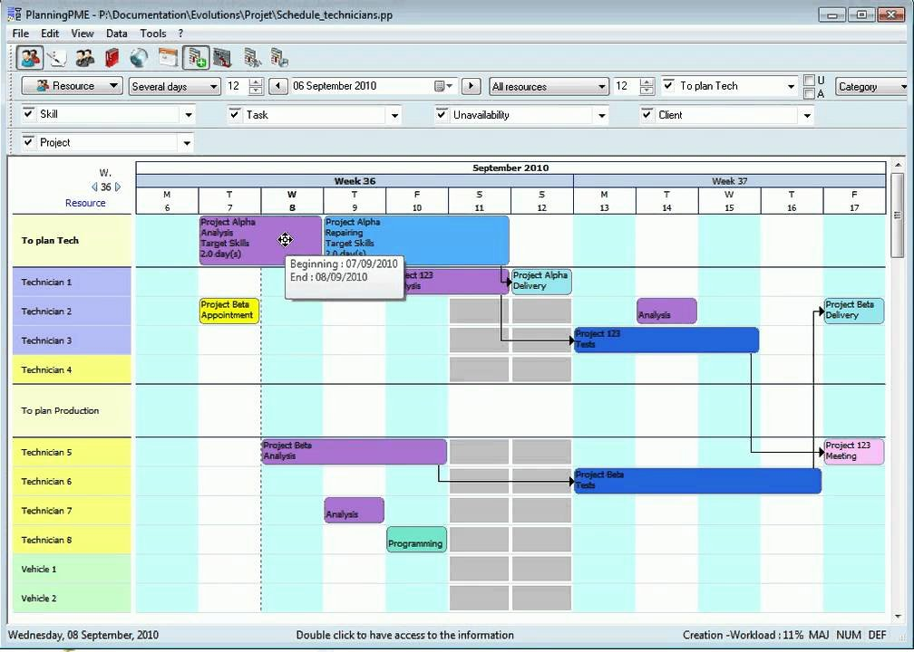 Manufacturing Production Schedule Template New Production Planning Gantt Chart English