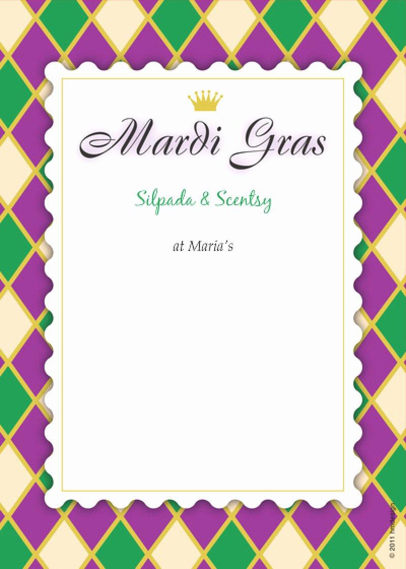 Mardi Gras Invitation Template Fresh Mardi Gras Invitation Template – orderecigsjuicefo