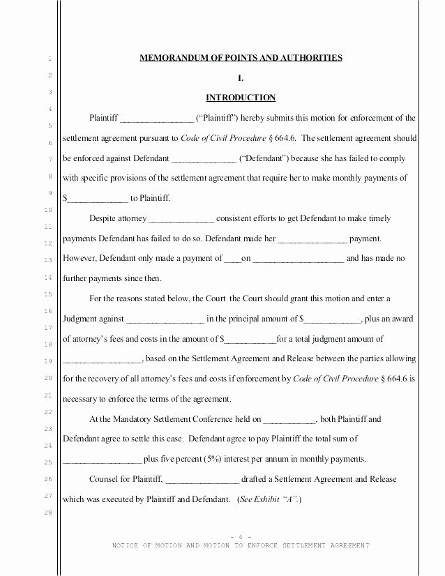 Marital Settlement Agreement Template Elegant Divorce Agreement Template California – Apprevio