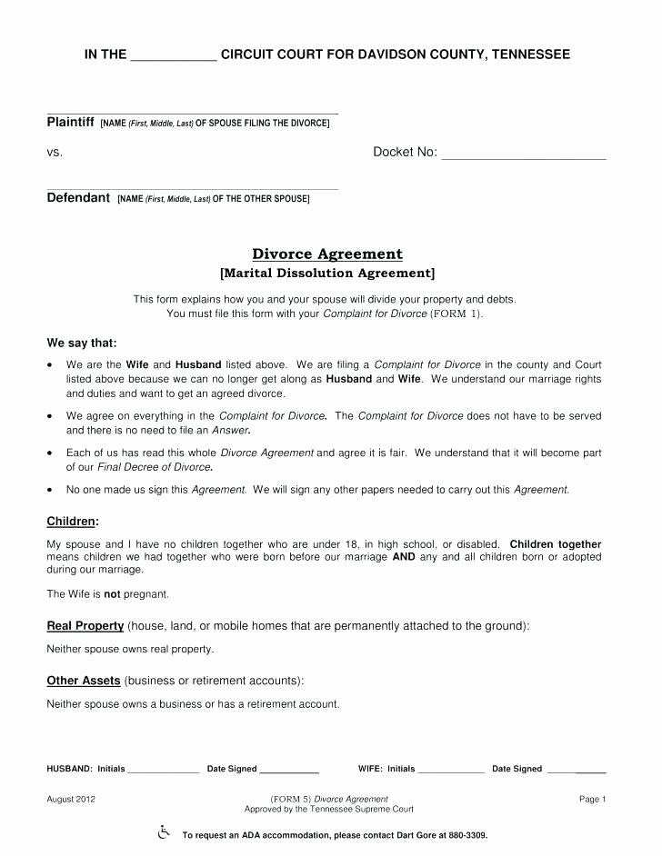 Marital Settlement Agreement Template New Marital Settlement Agreement Beautiful Marriage Contract