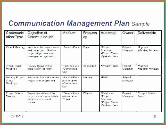 Marketing Communications Plan Template Best Of Munication Plan Timeline Template Munication Plan