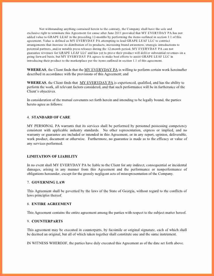Marketing Consultant Contract Template Beautiful 5 Marketing Consulting Agreement Template