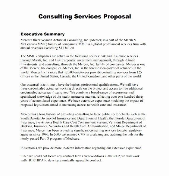 Marketing Consulting Proposal Template Luxury 9 Marketing Consultant Proposal Template Iewii