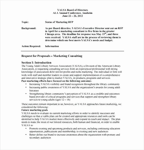 Marketing Consulting Proposal Template Unique Free Consulting Proposal Template Consulting Proposal