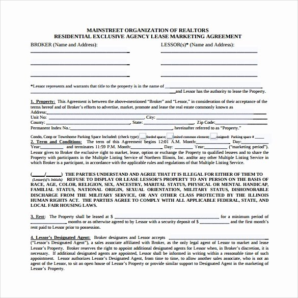 Marketing Service Agreement Template Best Of Marketing Agreement Template 29 Download Free Documents