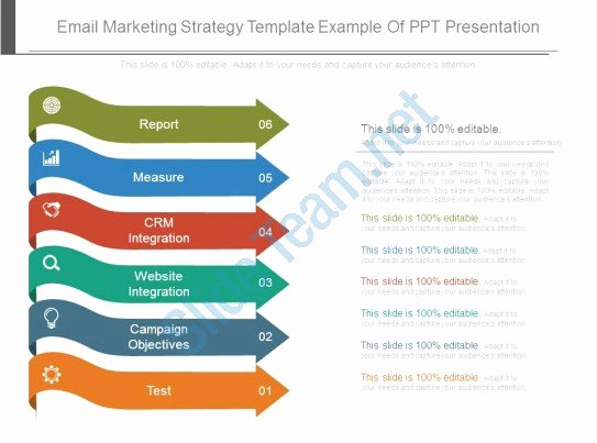 Marketing Strategy Template Ppt Luxury Email Marketing Strategy Template Example Ppt