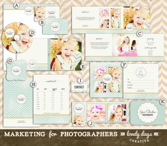 Marketing Template for Photographers Awesome Graphy Marketing Templates Set for by Lovelydayscreative