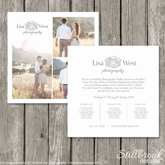 Marketing Template for Photographers Luxury 1000 Ideas About Graphy Price List On Pinterest