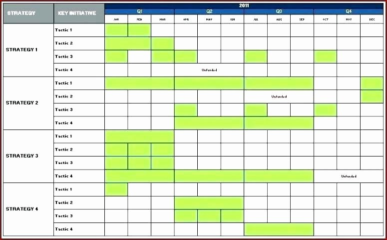 Marketing Timeline Template Excel Unique Marketing Plan Timeline Template