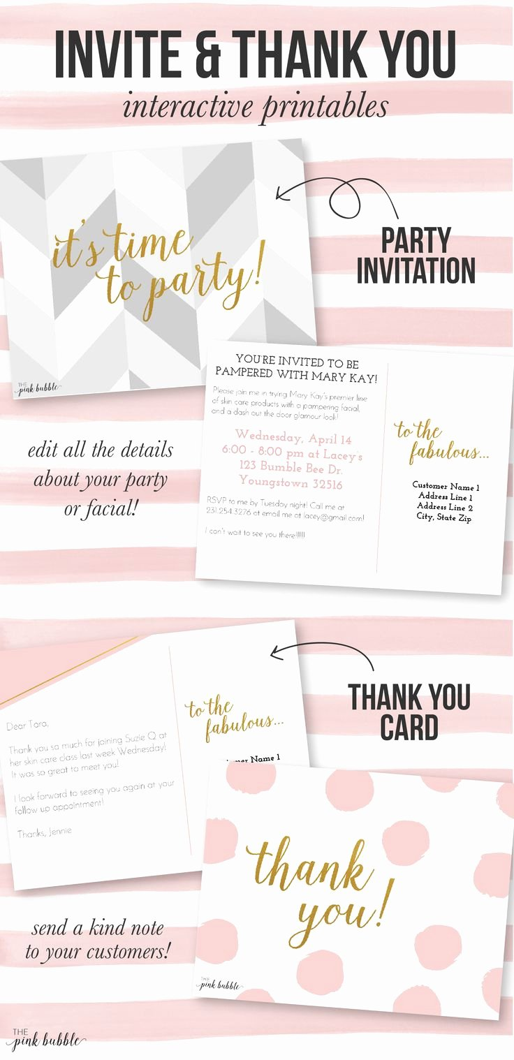 Mary Kay Invitations Template Inspirational 37 Best Party Essentials Images On Pinterest