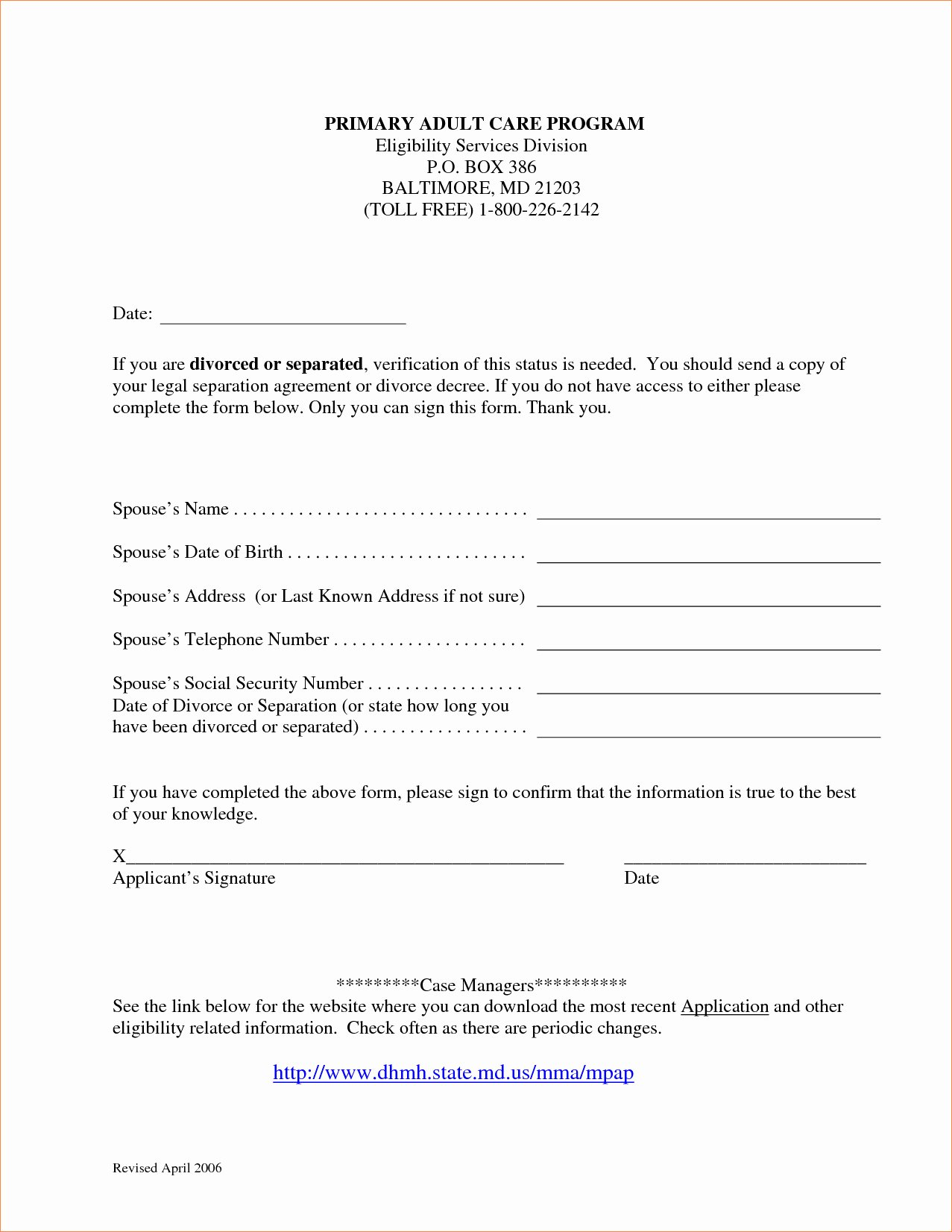 Maryland Separation Agreement Template Beautiful Maryland Separation Agreement Template Free Templates