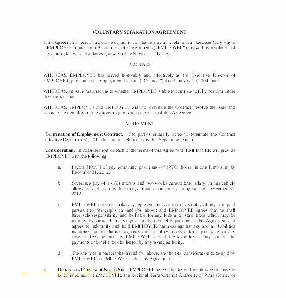 Maryland Separation Agreement Template Elegant Best S Legal Separation Agreement Example Marriage