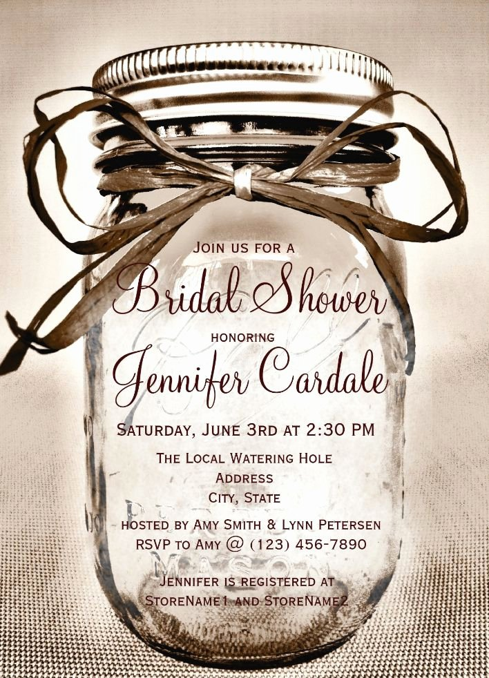 Mason Jar Invitation Template Awesome 25 Best Ideas About Mason Jar Invitations On Pinterest