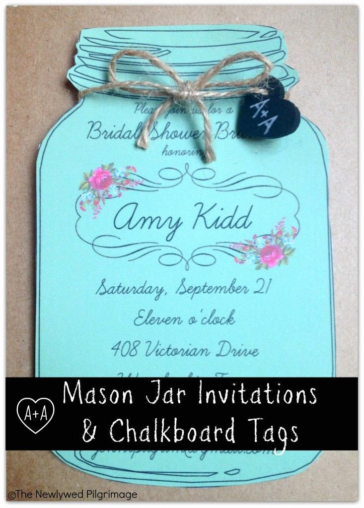 Mason Jar Invitation Template Fresh Mason Jar Invitations On Pinterest