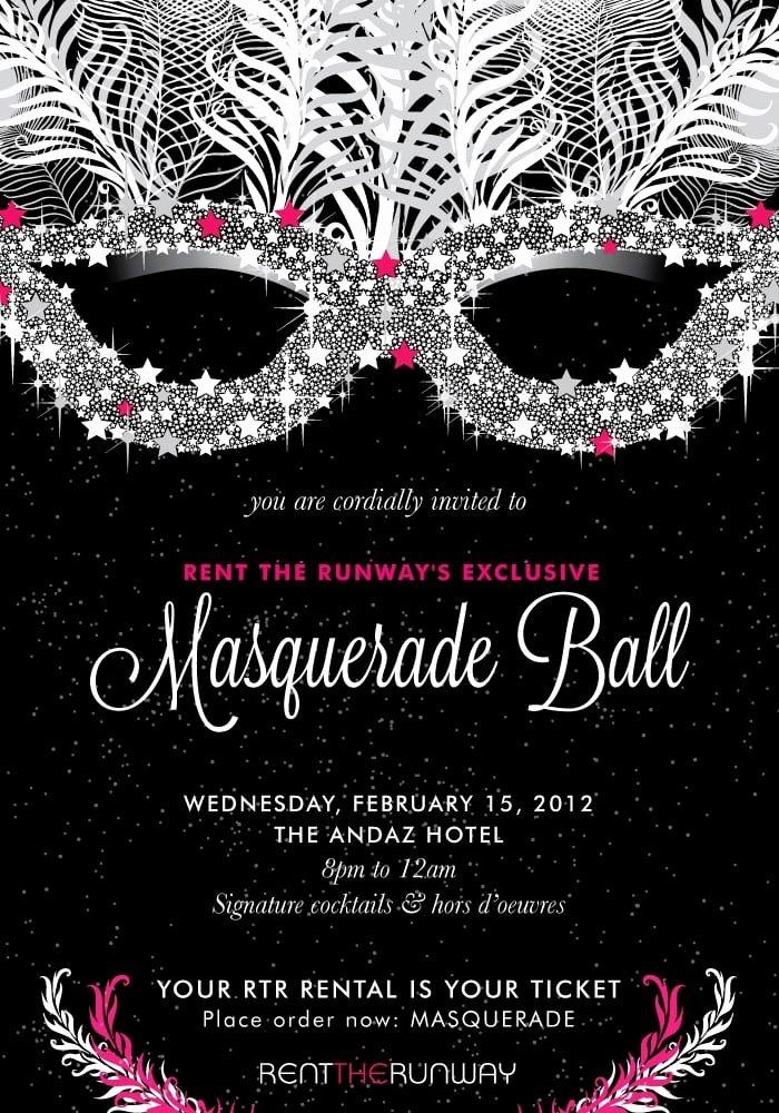 Masquerade Invitation Template Free Beautiful Masquerade Ball Invitation