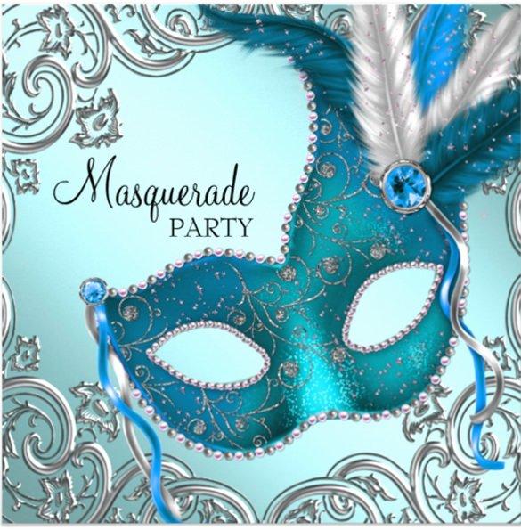 Masquerade Invitation Template Free Inspirational 24 Masquerade Invitation Templates Word Psd Ai Eps