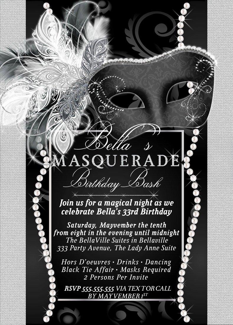 Masquerade Invitation Template Free Luxury Masquerade Party Invitation Mardi Gras Party Party