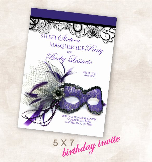 Masquerade Invitation Template Free New 24 Masquerade Invitation Templates Word Psd Ai Eps