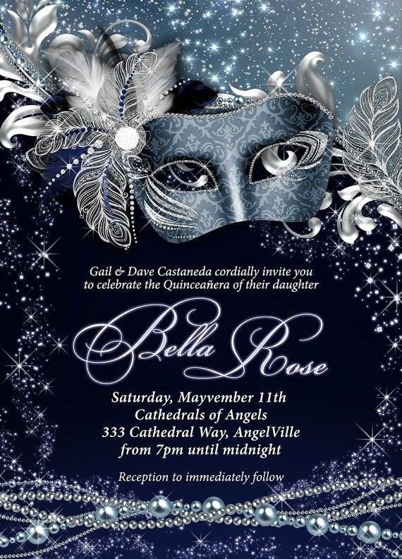 Masquerade Invitation Template Free Unique Best 25 Masquerade Invitations Ideas On Pinterest