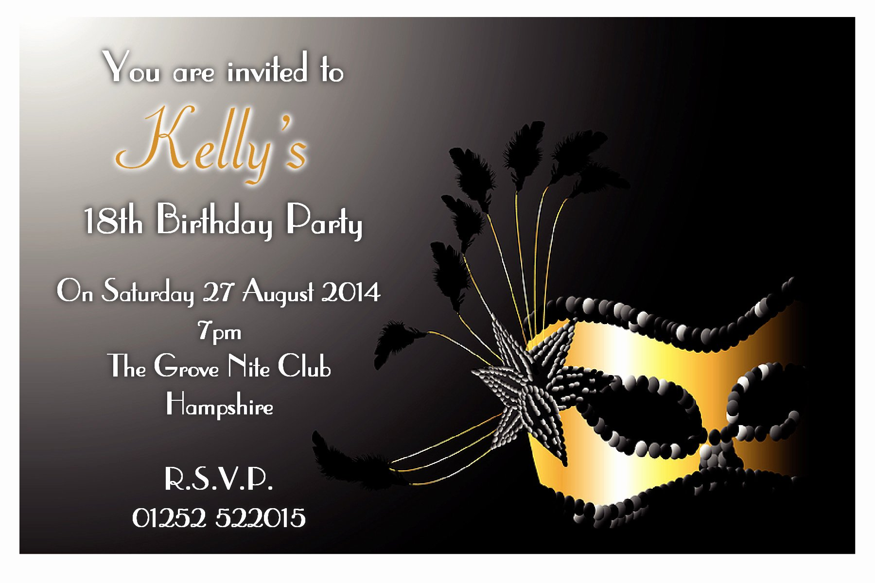 Masquerade Invitations Template Free Lovely Ele Cool Reference for Masquerade Ball Invitations Free