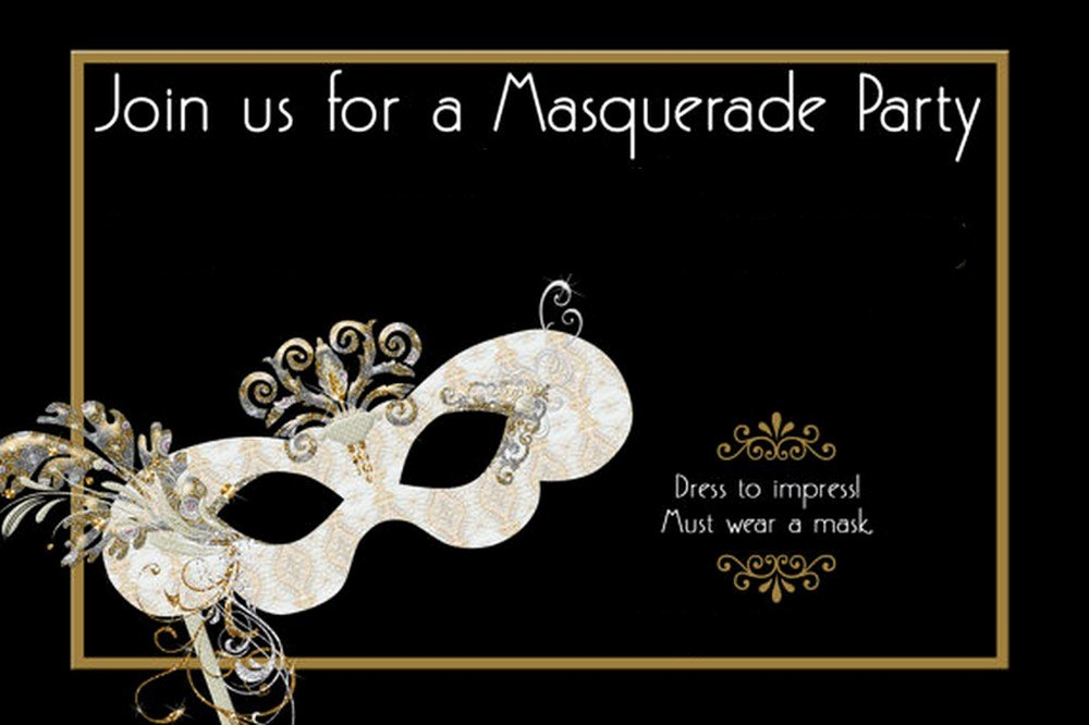 Masquerade Invitations Template Free Luxury How to Design Masquerade Party Invitations
