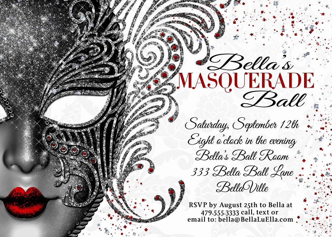 Masquerade Invitations Template Free Unique Masquerade Party Masquerade Invitation Mardi Gras Party