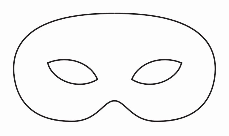 Masquerade Mask Template Printable Awesome Mask Templates to Print Printable 360 Degree