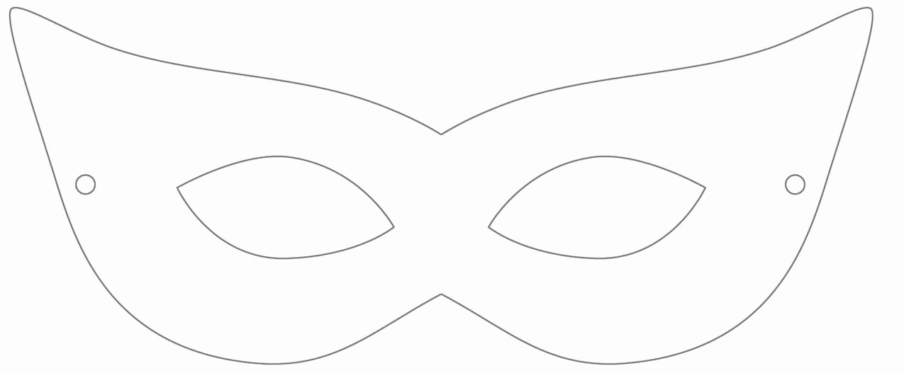 Masquerade Mask Template Printable Awesome Printable Masquerade Mask Template