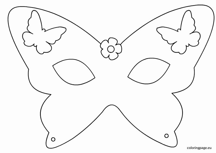 Masquerade Mask Template Printable Beautiful Best 25 Masquerade Mask Template Ideas On Pinterest