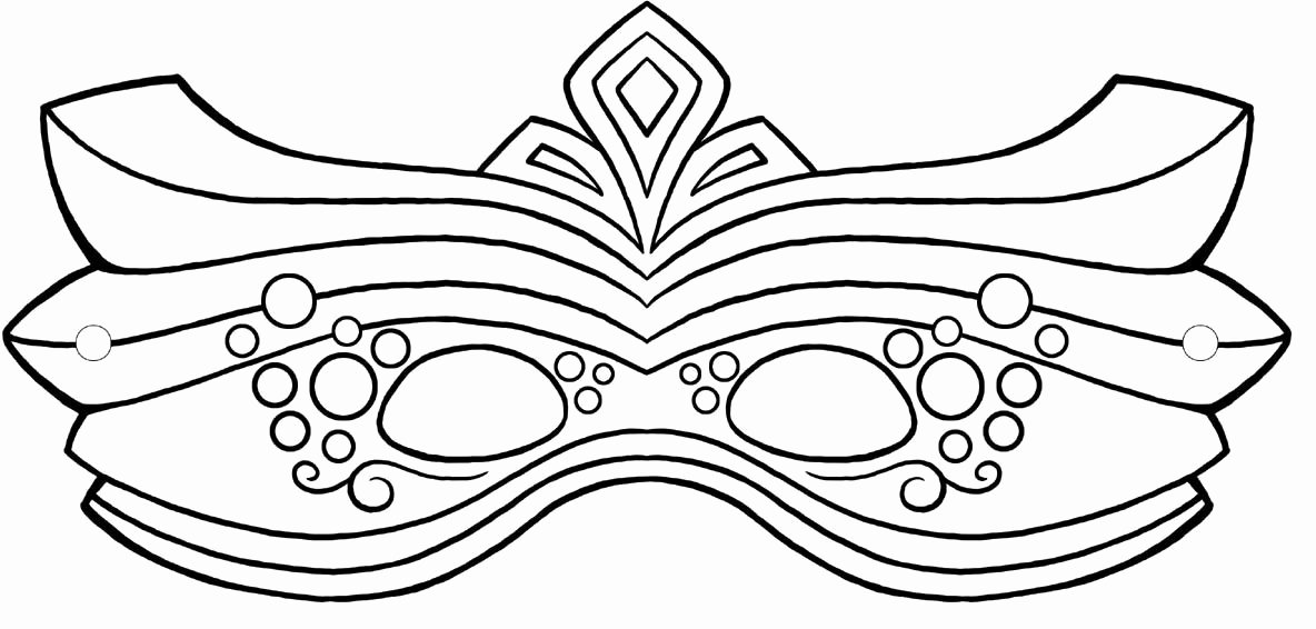 Masquerade Mask Template Printable Beautiful Free Mardi Gras Masks Pics Download Free Clip Art Free